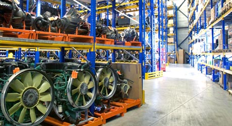 100.000 onderdelen op voorraad, wereldwijde levering