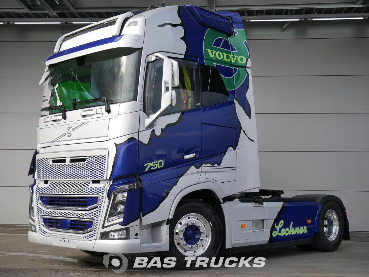A Vendre A Bas Parts Volvo Fh16 750 Xl Unfall Fahrbereit 4x2 12 2016