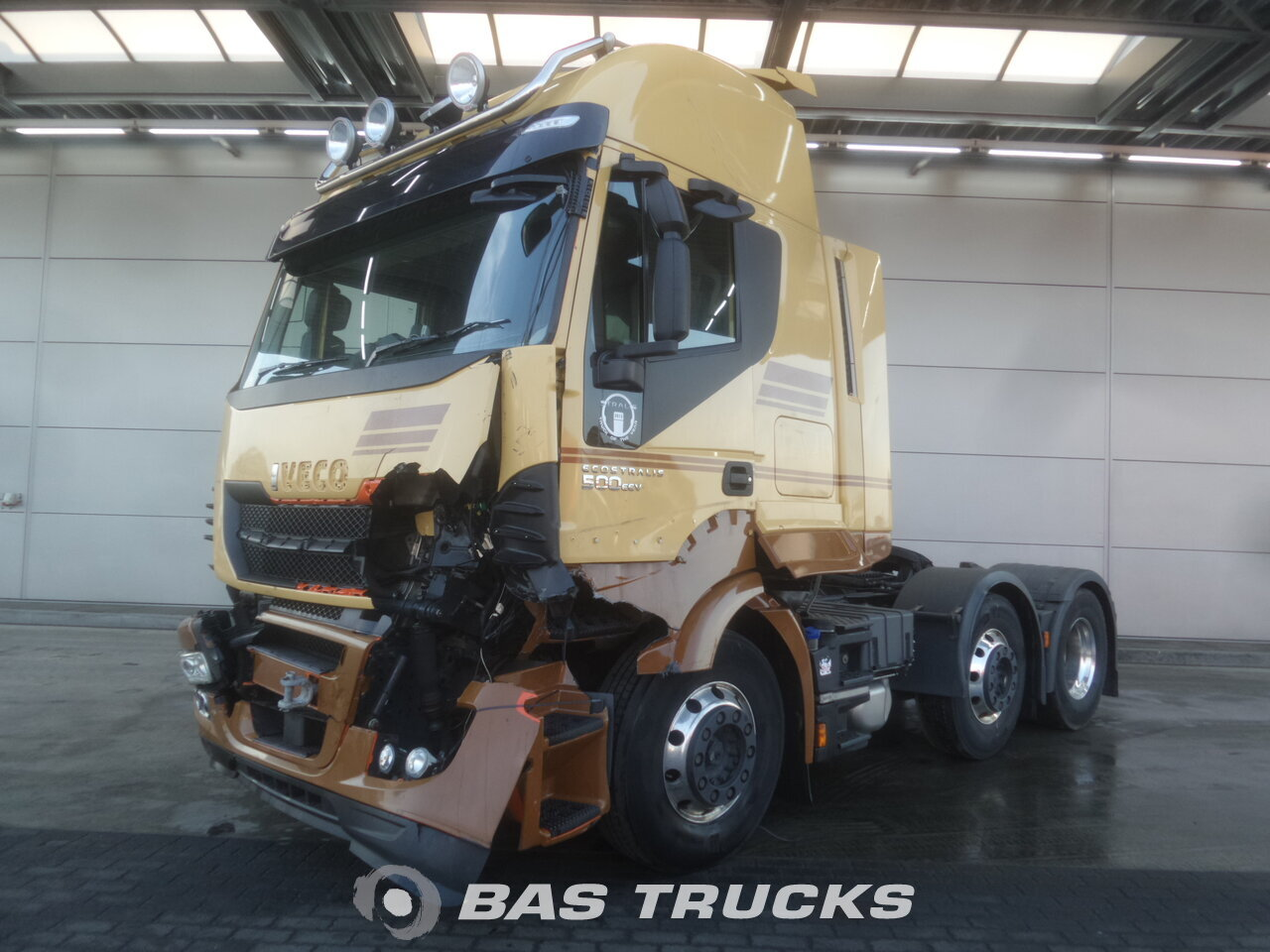 For sale at BAS Parts: IVECO Stralis Hi-Way AS440S50 RHD Unfall 6X2 05/2014